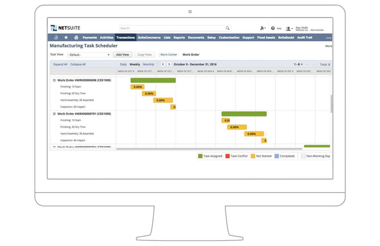 NetSuite production