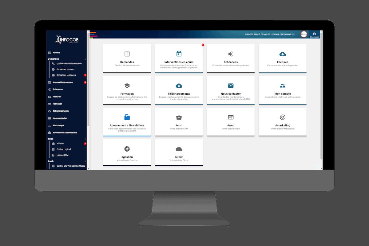 espace client infocob