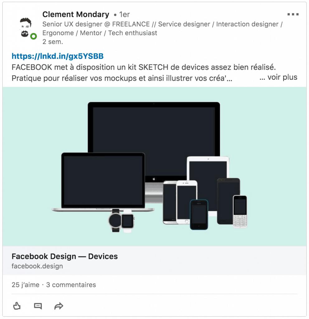 Post LinkedIn