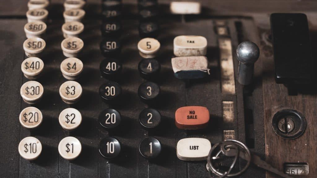 caisse enregistreuse alphanumérique