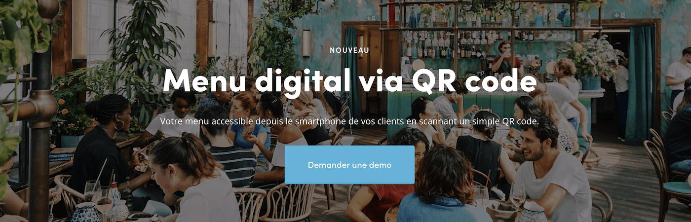 Clickeat menu digital qr code