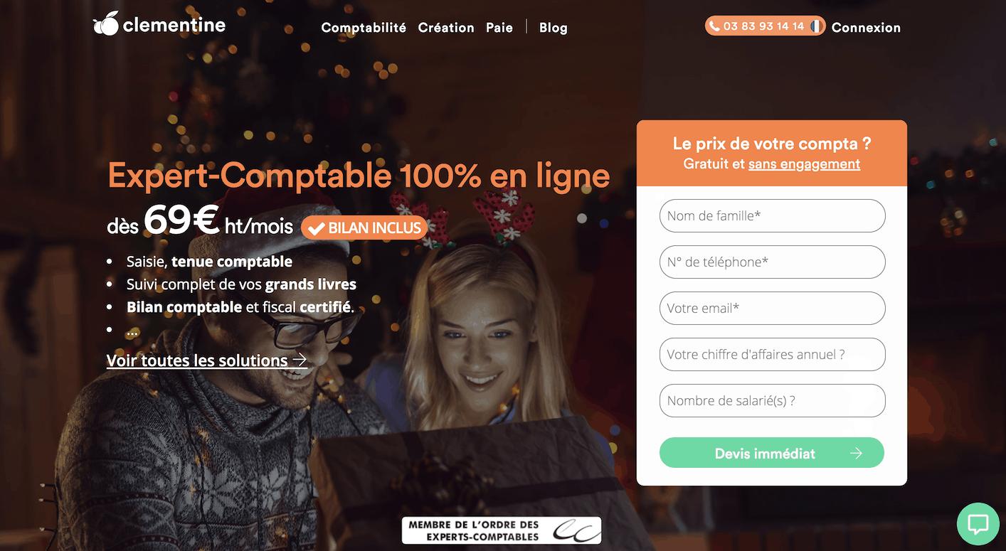 Compta Clémentine devis