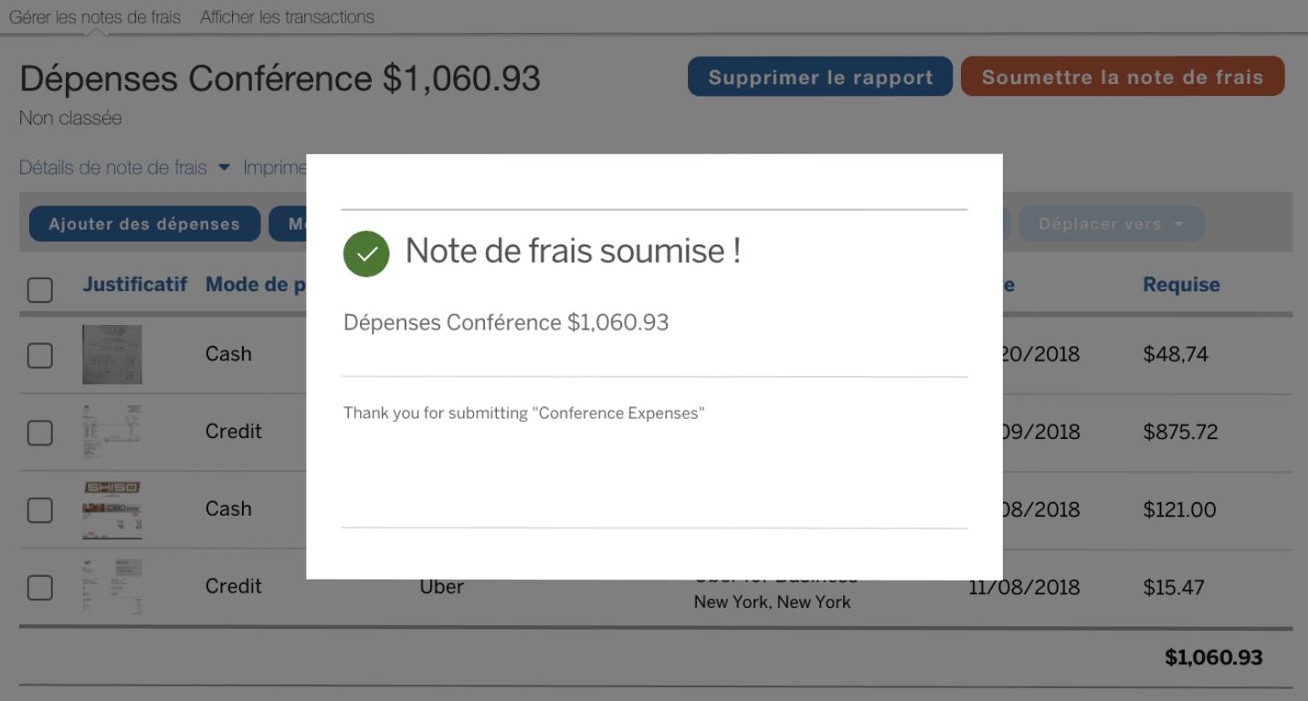 concur expense