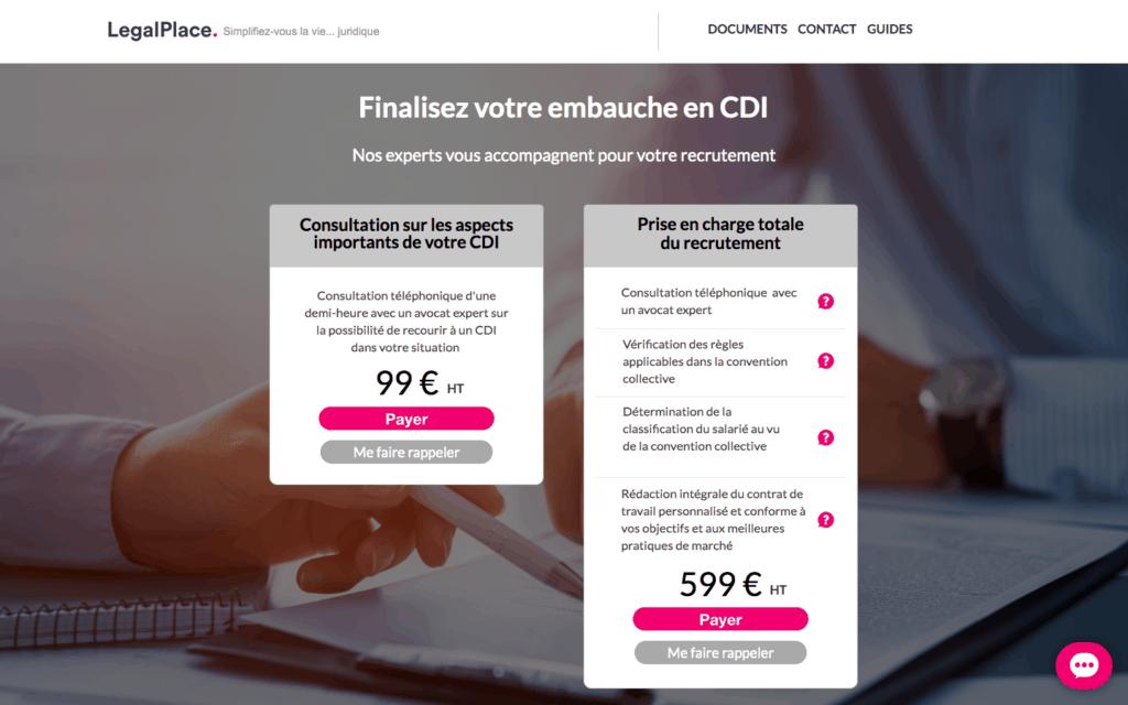 legalplace droit social CDD / CDI