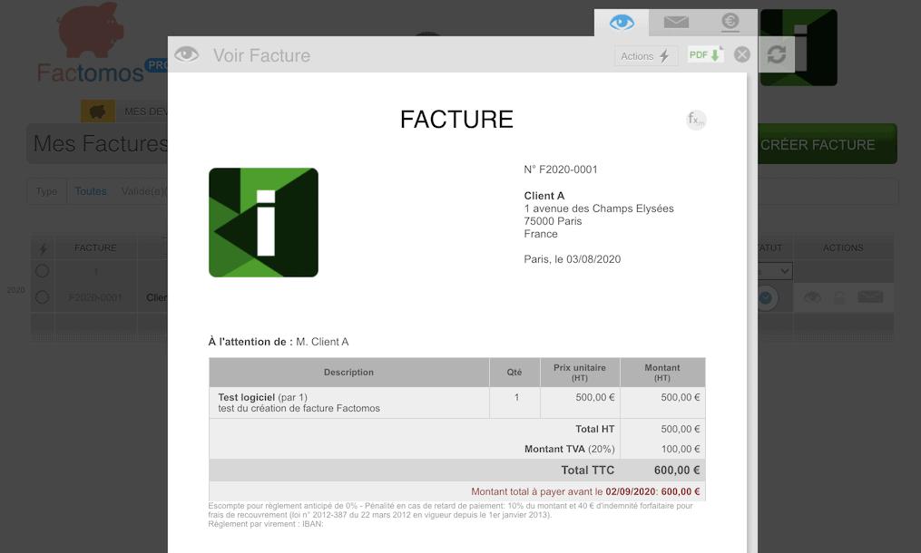 facture Factomos