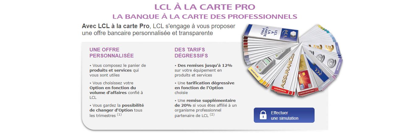 LCL Compte Pro