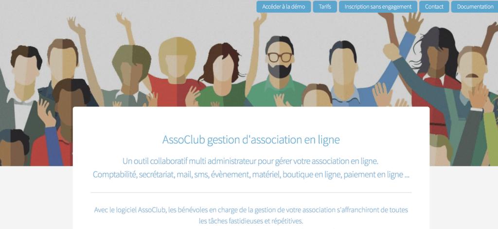 logiciel gestion association gratuit assoclub