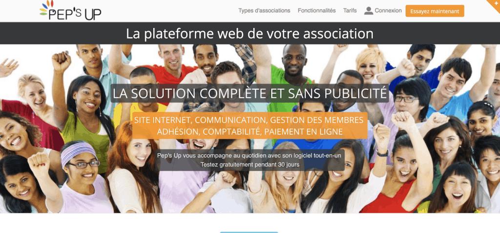 logiciel gestion association gratuit pepsup