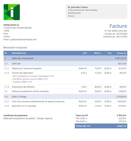 obat facture