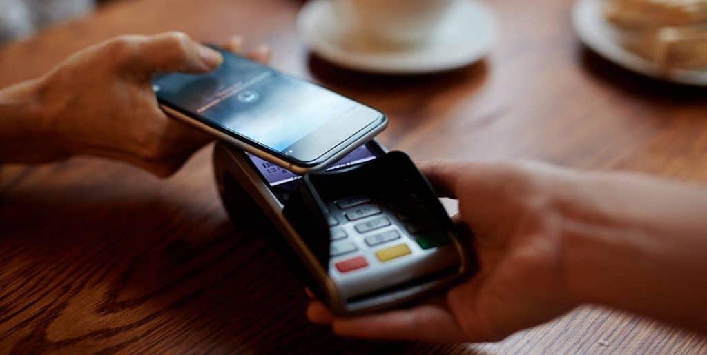 Paiement sans contact entre terminal et smartphone
