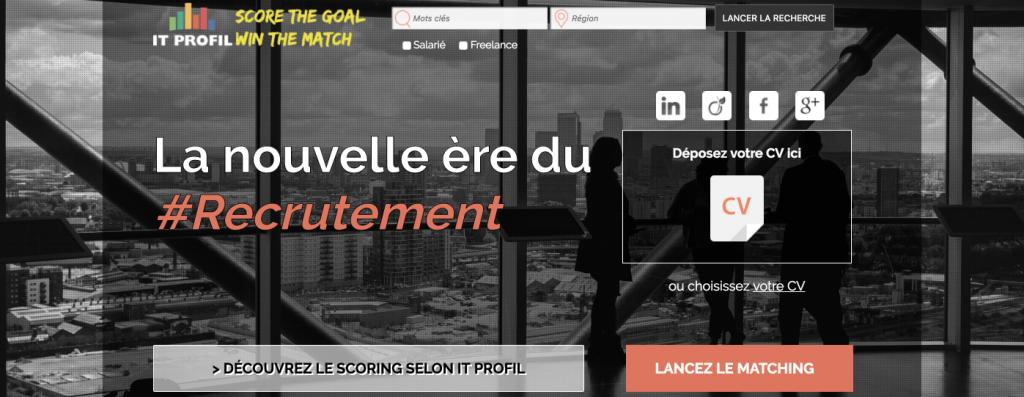 plateforme freelance IT Profil
