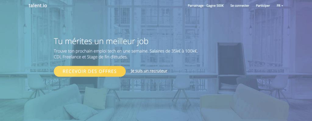 plateforme freelance tech talent.io