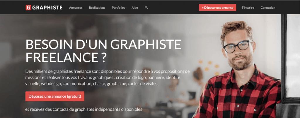 plateforme freelance graphiste.com