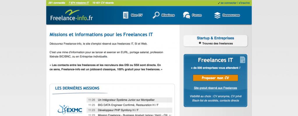 plateforme freelance info