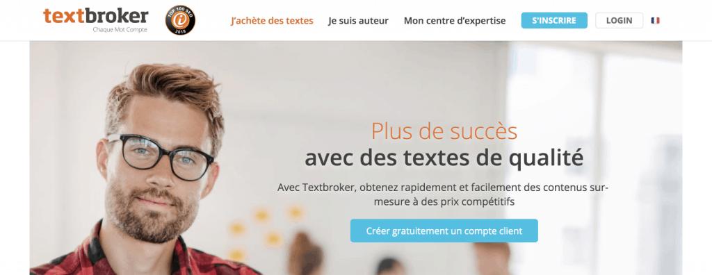plateforme freelance textbroker
