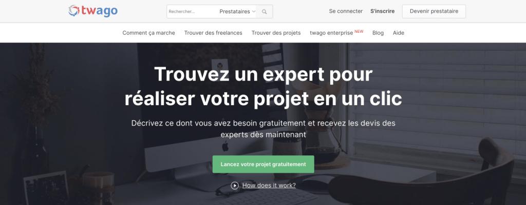 plateforme freelance twago france