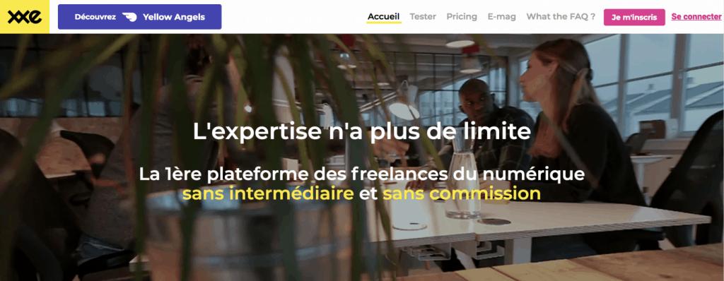 plateforme freelance xxe