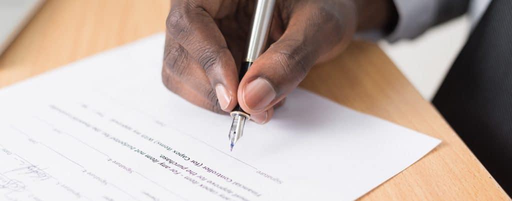 signer les statuts du son EURL
