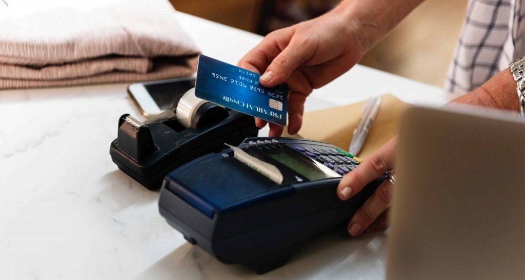 Photo terminal de paiement électronique fixe