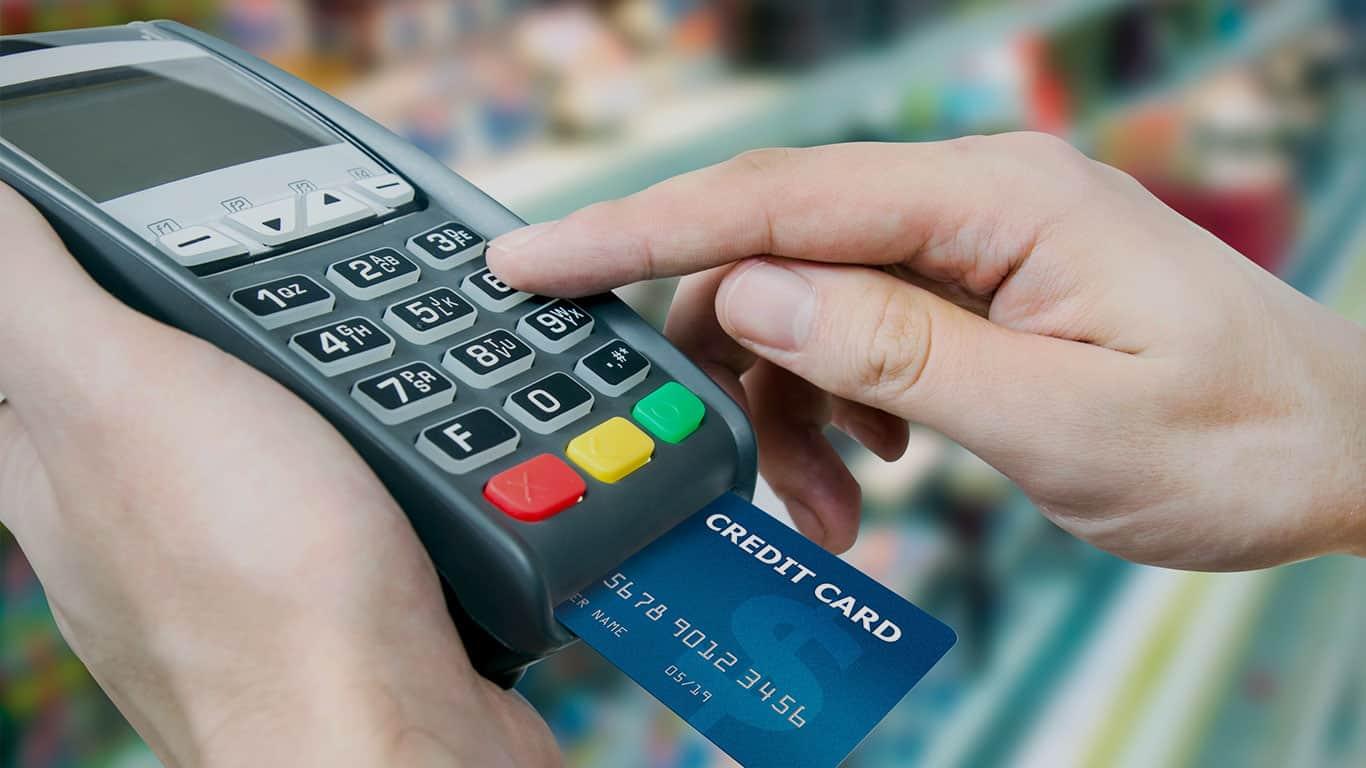 photo d'un terminal de paiement