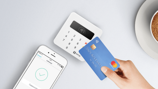 Terminal de paiement mobile de type SumUp