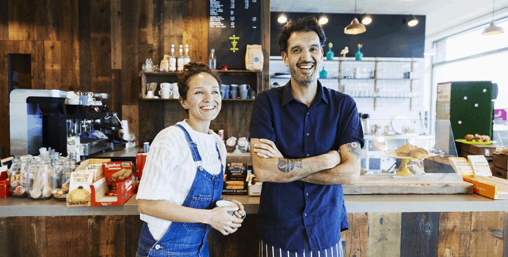 Terminal de paiement pour restaurants et cafés