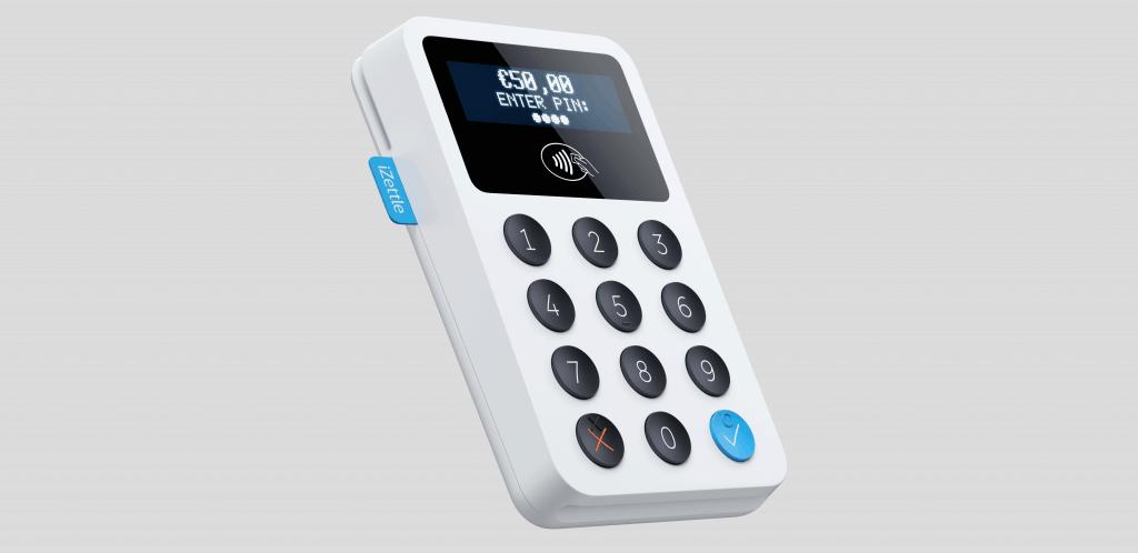 Terminal de paiement mobile iZettle